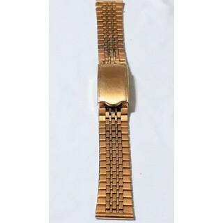 マルマン(Maruman)の商品NO. 150ラグ幅18mm【中古品】maruman♪ゴールド色・金属ベルト(金属ベルト)