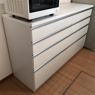 ニトリ(ニトリ)のニトリ チェルシープレミアム キッチンボード キッチンカウンター(キッチン収納)