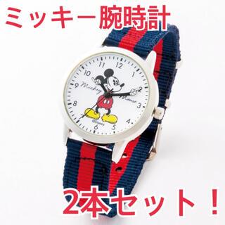 ミッキーマウス(ミッキーマウス)のミッキー 腕時計 ペア 時計 ディズニー ムック本(腕時計)