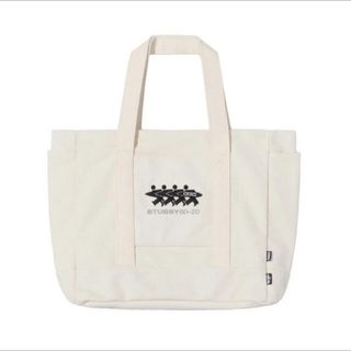 STUSSY CDG CANVAS TOTE NATURALキャンバストート