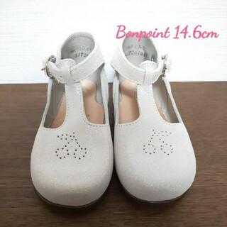 Bonpoint - 【新品】Bonpoint チェリー レザーシューズ EU24