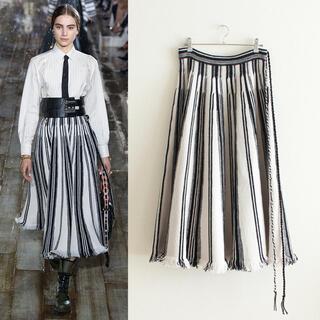 クリスチャンディオール(Christian Dior)のDIOR/クリスチャンディオール/19SS/ストライプニットロングスカート(ロングスカート)
