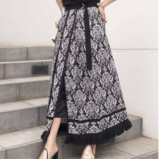 Ameri VINTAGE - Ameri Vintage ロングスカート