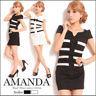 デイジーストア(dazzy store)のAmanda  アマンダ キャバ ドレス ワンピース(ミニワンピース)