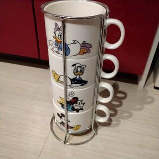 ディズニーマグカップ4個セット(グラス/カップ)