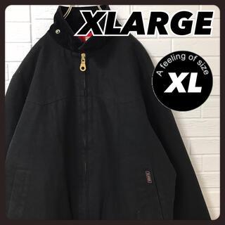 エクストララージ(XLARGE)のエクストララージ ダック ジャケット ブルゾン 黒 XL(ブルゾン)