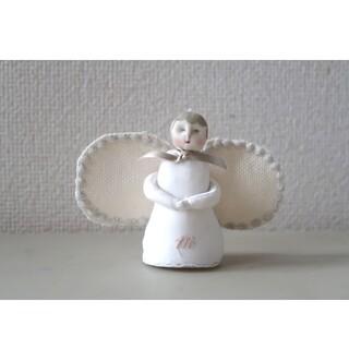 ミナペルホネン(mina perhonen)のハンドメイド オーナメント ミナペルホネン 天使 人形 ドール ぬいぐるみ(人形)