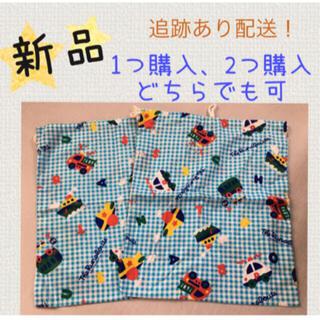 サンリオ(サンリオ)の◉新品◉ 巾着袋 サンリオ ラナバウツ 男の子 乗り物 ハンドメイド バッグ(バッグ)