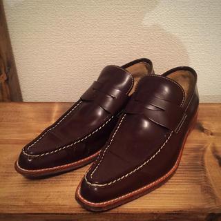 コムデギャルソン(COMME des GARÇONS)の⚪  ギャルソンのお洒落な革靴(ローファー