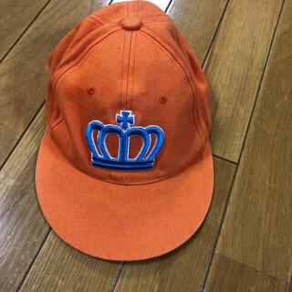 ベビードール(BABYDOLL)のベビードール オレンジ キャップ 50〜54サイズ(帽子)