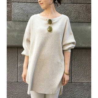 L'Appartement DEUXIEME CLASSE - AMERICANA THERMAL BACK HENLEY NECK ナチュラル
