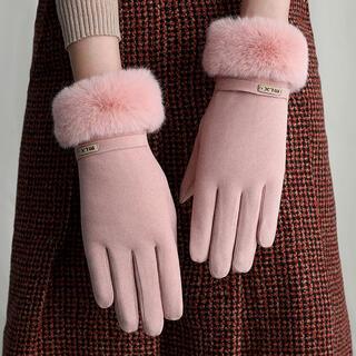 ♡新品・新商品入荷!! 手袋 秋冬かわいい ピンク(手袋)