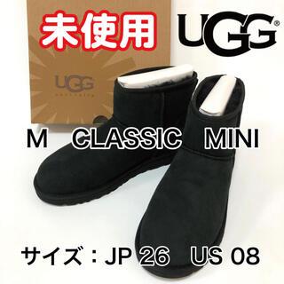 アグ(UGG)の UGG australia ムートンブーツ M CLASSIC MINI(ブーツ)