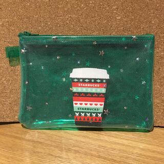 Starbucks Coffee - スタバ ホリデー クリスマス スタバ リメイク  ポーチ