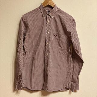 フレッドペリー(FRED PERRY)の【複数割】フレッドペリー FREDPERRY 長袖チェックシャツ Sサイズ(シャツ)