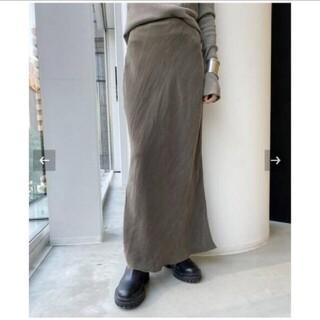 アパルトモンドゥーズィエムクラス(L'Appartement DEUXIEME CLASSE)の【OZMA/オズマ】Cupra Tight Skirt 36(ロングスカート)