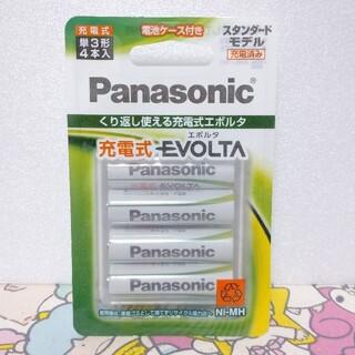 Panasonic - パナソニック  充電式 単3形4本入  スタンダードモデル