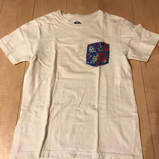 クイックシルバー(QUIKSILVER)の【値下げ】 クイックシルバー 白 Tシャツ S(Tシャツ/カットソー(半袖/袖なし))