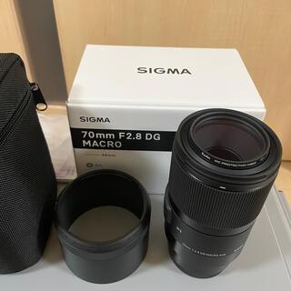 SIGMA - 値下げ不可ほぼ新品SIGMA 70mm F2.8 DG MACRO