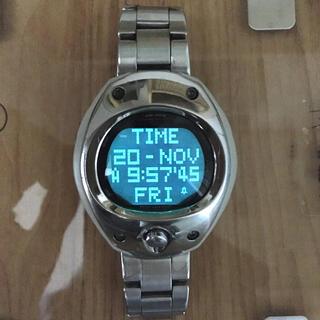 セイコー(SEIKO)のSEIKO ALBA SPOON 海外Ver. 腕時計(腕時計(デジタル))