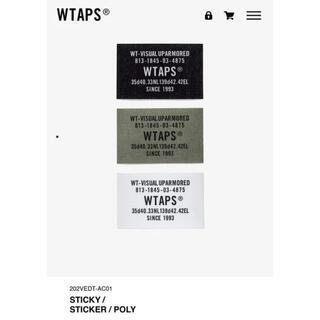 ダブルタップス(W)taps)のWTAPS STICKY ステッカー descendant(その他)