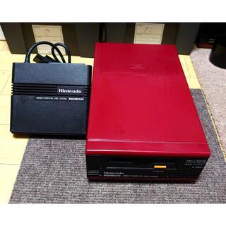 ファミリーコンピュータ - 【完動品・良品】後期型『ディスクシステム本体+RAMアダプタ』セット(調整済)