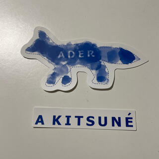 メゾンキツネ(MAISON KITSUNE')の超人気 Adererror X maison Kitsune ステッカー(その他)