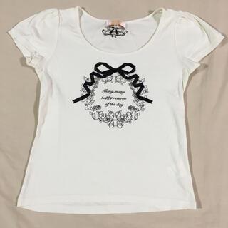 ミニマム(MINIMUM)のミニマムミニマム リボンTシャツ(Tシャツ(半袖/袖なし))