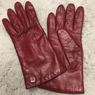 コーチ(COACH)のCOACH 本革 手袋(手袋)