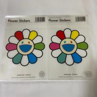 フラワー(flower)のFlower Stickers フラワーステッカー カイカイキキ 村上隆(キーホルダー)