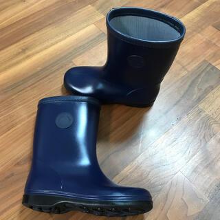 ファミリア(familiar)のfamiliar 紺色 長靴 20㌢(長靴/レインシューズ)
