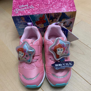 MOONSTAR  - 新品 アリエル 光る靴 ディズニー ピンク ムーンスター