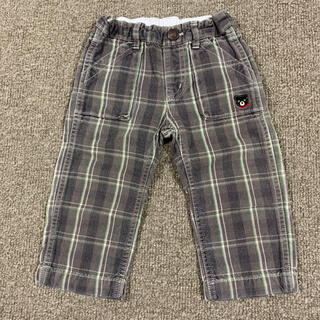 DOUBLE.B - 【良品 状態考慮】 DOUBLE-B 90cm パンツ 長ズボン チェック