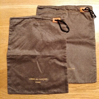 コムデギャルソン(COMME des GARCONS)のコムデギャルソン シューズバッグ 巾着 2枚(その他)