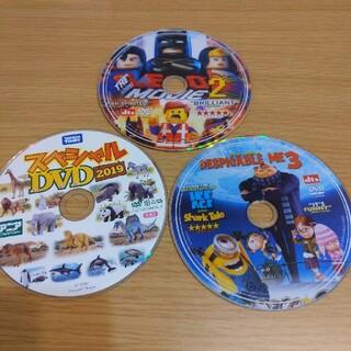 ミニオン(ミニオン)のアニア・LEGO・怪盗グル―の月泥棒 DVD3枚(キッズ/ファミリー)