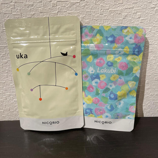 ニコリオ ラクビ×1袋 ウーカ×1袋 サプリメント(ダイエット食品)