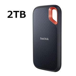 サンディスク(SanDisk)のSanDisk PortableSSD 2TB エコパッケージ【未開封】(PC周辺機器)