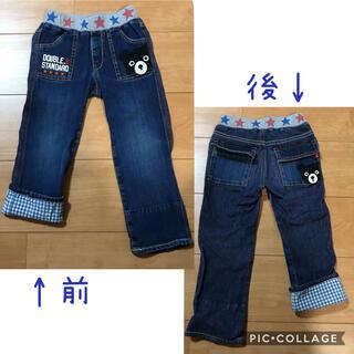 DOUBLE.B - ミキハウス ダブルビー☆異素材デニムパンツ100