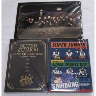 スーパージュニア(SUPER JUNIOR)のSUPER JUNIOR DVD セット(ミュージック)