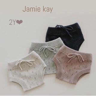 キャラメルベビー&チャイルド(Caramel baby&child )の【新品タグ付】Jamie kay ❤︎ブルマ 2Y(パンツ/スパッツ)