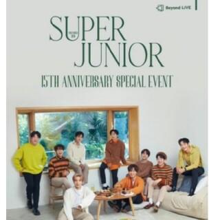 スーパージュニア(SUPER JUNIOR)のSUPER JUNIOR✨デビュー15周年オンラインファンミ💕DVD2枚組(ミュージック)