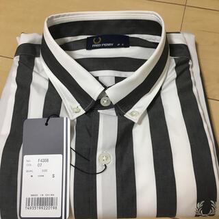 フレッドペリー(FRED PERRY)のフレッドペリー ブロックストライプシャツ f4358(シャツ)