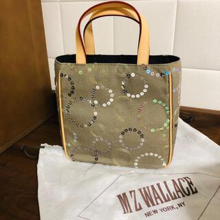 エムジーウォレス(MZ WALLACE)のMZ WALLACE スパンコール ミニトートバッグ(未使用品)(トートバッグ)