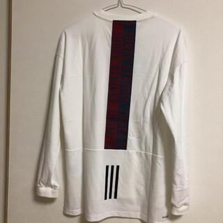 adidas  レディース  長袖 Tシャツ