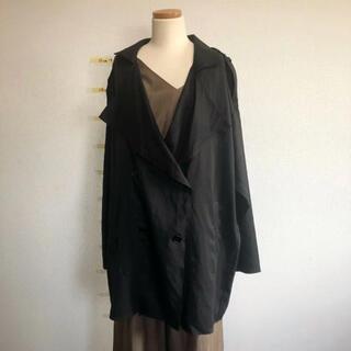 エゴイスト(EGOIST)の新品 EGOIST ゆったり 羽織り トレンチコート(トレンチコート)