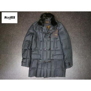 モンクレール(MONCLER)のムーレー moorer 24万 新品タグ付きラビットファーMorris-L(ダウンジャケット)
