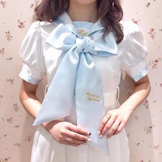シロップ(syrup.)のrose marie seior ビッグ リボン タイ(バンダナ/スカーフ)