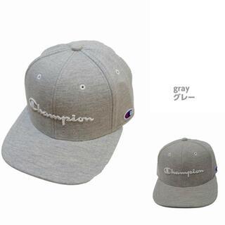 チャンピオン(Champion)の新品★チャンピオン 帽子 男女兼用 スウェット ベースボールキャップ★グレー(キャップ)