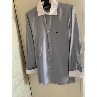 BURBERRY BLACK LABEL - バーバリー  ブラックレーベル グレー ワイシャツ