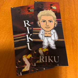 THE RAMPAGE - RIKU 白衣装千社札